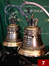 Two bells made for Media Corporation Company (25cm x 24,5cm)